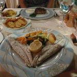 seabass + steak