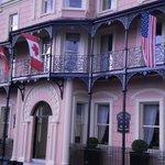 lovely hotel facade