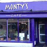 Monty's cafe in the Barbican area of Plymouth UK