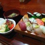 Nigiri sushi lunch setC