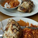 Fire Grilled chicken with Peri Peri rice