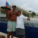 manilo one of many of the wonderfull staff that served u on the beach and pool