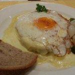 Raclette w/ Ham & Egg - Wetterhorn