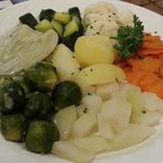 Steamed Veggies - Wetterhorn - add fresh and good!