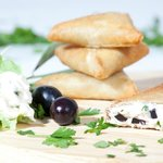 Cheez Briouatz' - Cheez fried moroccan pastries