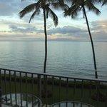 Sunrise view from lanai