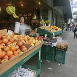Close to Chinatown - lots of cheap fruit