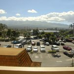 Front of complex/parking lot facing west (Haleakala)