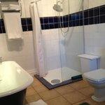 Walberswick large shower - traditional bathroom
