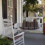 The Historic Parsonage Inn Porch