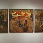 Clark's triptych