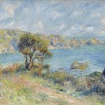 View at Guernsey by Pierre-Auguste Renoir