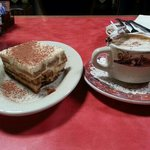 Amazing Tiramisu and Latte