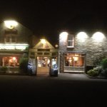 Brookhouse Farm at night