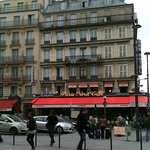 Exterior of hotel from outside the Gare Du Nord
