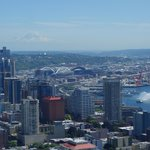 View from restaurant in Space Needle