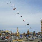 12 mile beach with kites