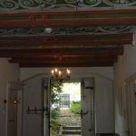 Entrance and beautiful ceiling