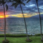 Sunset from lanai....heaven!!