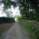 The Bath Skyline Path goes through the farm meadows