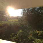 View from Sunny Hideaway bathroom window