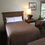 Historic lodge rooms sleep 2 in centrally located comfort