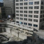 Overrated Boutique Hotel: Deluxe room faces worksite 2