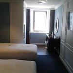 Deluxe room for 2 pax has only 1 stool at the vanity table