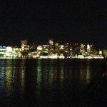 The Boston city lights