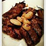Grilled lamb T-bone