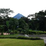 Excellent view of Mt. Arenal