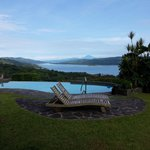 Excellent view of Lake Arenal