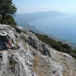 Вид с горы Керкис