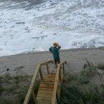 Day we arrived, high tide?  umm yeah!