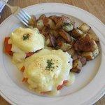 Salmon Eggs Benedict