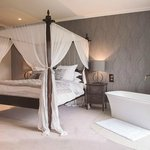 Sara Garner bridal suite