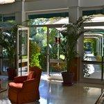 Entrance Lobby and garden