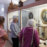 A docent led tour though the Douglas County Historical Museum