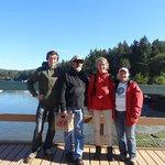 Maxim, Jim, me and Jeanne