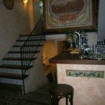 The entrance/ bar