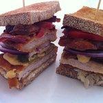 Schnitzel Sandwich at Pier 97