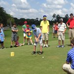 Junior golf camp