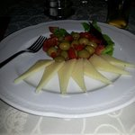 Cheese and olives in the taverna (pay separately)