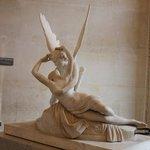 Psyche awakened by Cupid's Kiss - Canova