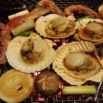 Grill seafood and vegetables!