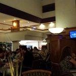 Restaurante del hotel buen ambiente por las noches