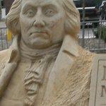 George Washington Sandsculpture