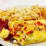 Monster omlette