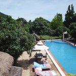 La piscine du Kep Malibu hôtel