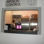 "When you arrive you check in at ""mission control"". They'll loan you a hairdryer, alarm clock, et"